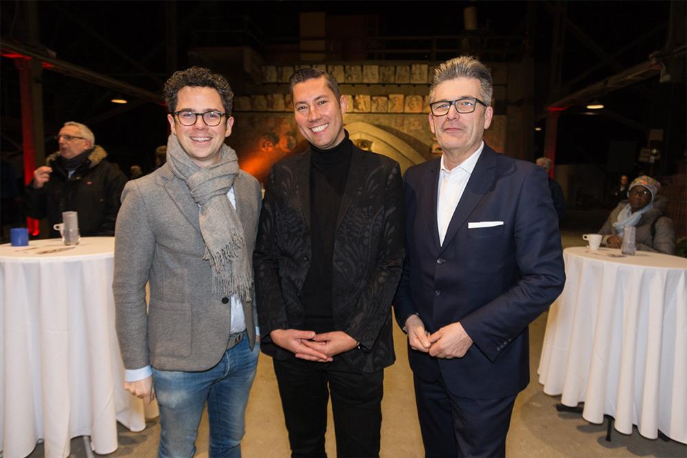 Philipp Maderthaner, Jürgen Tarbauer und Martin Heimhilcher © LEADERSNET/Stowasser